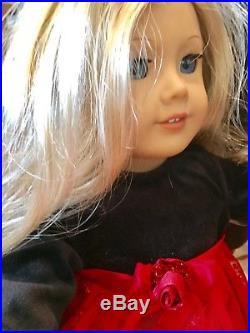 American Girl DollRetiredBlonde Girl DollHorseJeepWardrobeOutfitsEUC
