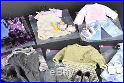 American Girl Doll 18 Inch Authentic Outfits and Accessories Lot of 12 Vintage