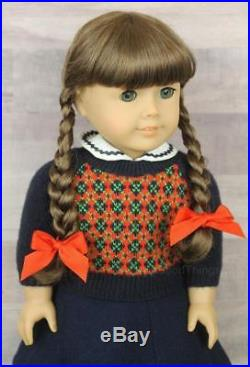 American Girl Doll 18 Molly McIntire W Meet Outfit & Shoes RETIRED Historical