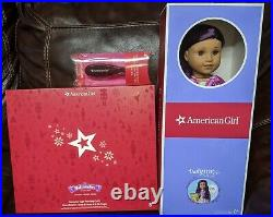 American Girl Doll #86 Sugar Plum Fairy Outfit Brush purple hair brown eyes NEW