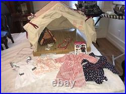 American Girl Doll About Molly, Camping Tent With Accessories Plus Outfits