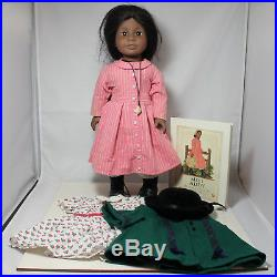 American Girl Doll, Addy Walker and Three Outfits and Books, witho box
