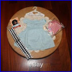 American Girl Doll Addy's RETIRED & VERY RARE Kite-Flying Outfit, NEW, UNUSED