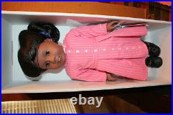 American Girl Doll Addy with Meet Outfit and Meet Addy book NIB No Top to Box