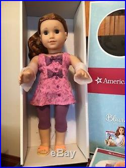 American Girl Doll Blaire Girl of The Year 2019+Floral Flair Outfit-No Meet-NIB
