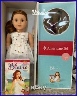 American Girl Doll Blaire Wilson & Blaire's Gardening Outfit New In Box GOTY