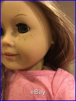 American Girl Doll Bundle with Doll Pierced Ears & Outfits All New Great Gift
