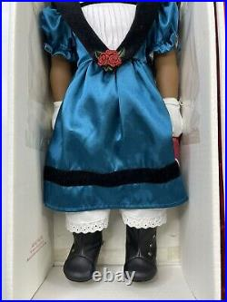 American Girl Doll CECILE REY In Meet Outfit Necklace Hat Gloves ACCESSORIES Box