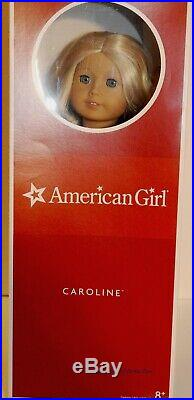 American Girl Doll Caroline 2012 + Meet Outfit + Original Box Excellent Cond