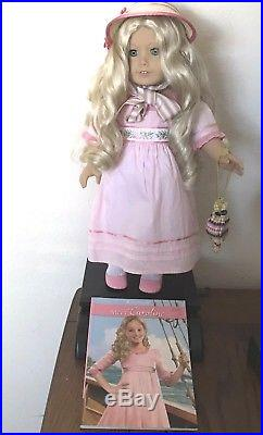 American Girl Doll Caroline Abbott 18 Retired Complete With Meet Outfit & Holiday