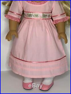American Girl Doll Caroline Abbott Complete Meet Outfit Book Original Box EEUC
