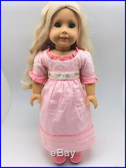 American Girl Doll Caroline Abbott With Dress + 2 Caroline Outfits Pre-Owned
