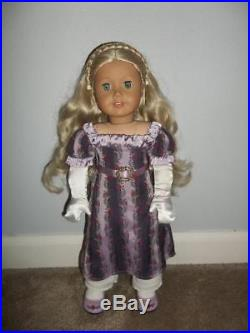 American Girl Doll Caroline Historical Retired Clothes Accessories 3 Outfits