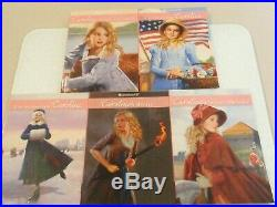 American Girl Doll Caroline With Meet Outfit and 5 Extra Books MINT