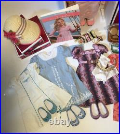 American Girl Doll Caroline With Outfits & Accessories Lot