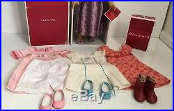 American Girl Doll Caroline with Extra Outfits/Accessories Mint Condition Lot