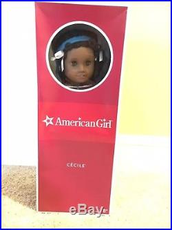 American Girl Doll Cecile NIB w book, Outfit & Accessories, RETIRED, Historical
