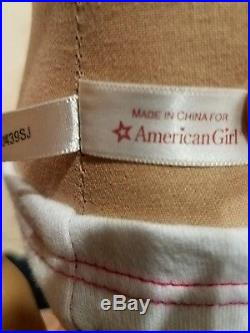 American Girl Doll Chrissa 2009 Girl of Year Lot -w- outfits EUC