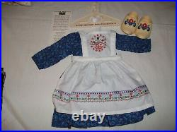 American Girl Doll Clothing Kirsten's Baking Outfit- Complete -nib-exc
