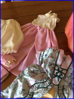 American Girl Doll Elizabeth Doll Meet Outfit + Four Outfits EUC