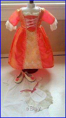 American Girl Doll Elizabeth Equestrian Lot Felicity horse Penny Riding outfit