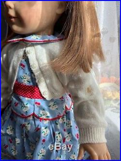 American Girl Doll Emily Retired Original Outfit And Box