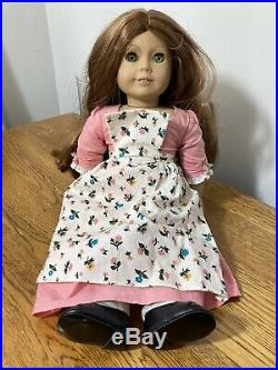 American Girl Doll FELICITY, Birthday Outfit, Pleasant Company On Neck