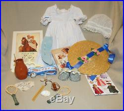 American Girl Doll Felicity Plantation Set Summer Outfit Book Pleasant Company