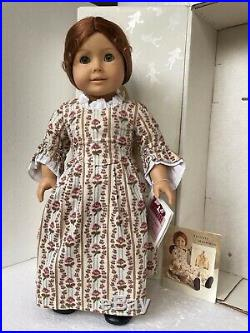 American Girl Doll Felicity Pleasant Company Box Rose Garden Outfit W Germany