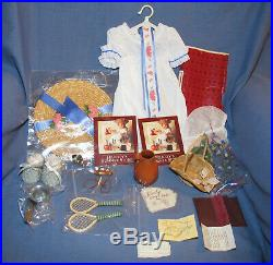 American Girl Doll Felicity Summer Outfit Rescue And Plantation Play Set Retired