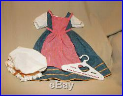 American Girl Doll Felicity Town Fair Outfit Plus Hanger Retired