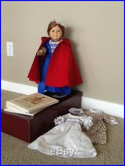 American Girl Doll Felicity Withoriginal box, Books and 4 clothing outfits