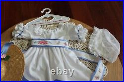 American Girl Doll Felicity's RETIRED & RARE Summer Outfit & Shoes, PC 1992, VGC