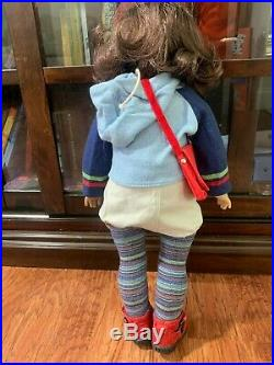 American Girl Doll GOTY 2001 Lindsey Bergman with Barrette, Outfit, Please READ