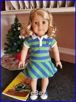American Girl Doll Goty 2010 Lanie 18 Goty Meet Outfit New Condition