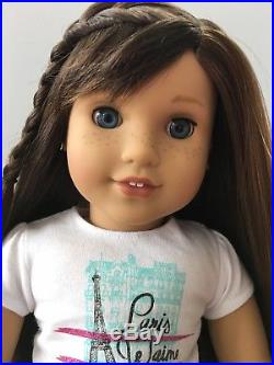 American Girl Doll Grace Thomas 2015 Girl Of The Year With Meet Outfit
