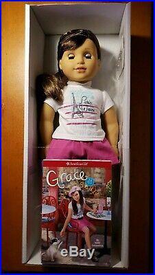 American Girl Doll Grace Thomas 2015 NIB NRFB bracelet meet outfit new in box