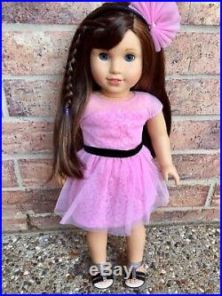 American Girl Doll Grace With Rare Opening Night Outfit Excellent Condition