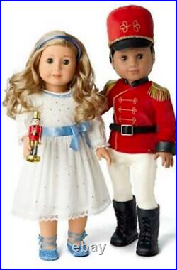 American Girl Doll Holiday Nutcracker and Clara Outfits Limited Collection NEW