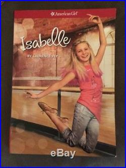 American Girl Doll Isabelle Dance Studio, Isabelle Meet Outfit And Isabelle Book