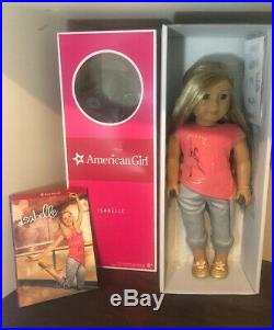 American Girl Doll Isabelle Lot (Sewing Studio, Kitten, Outfit And Accessories)