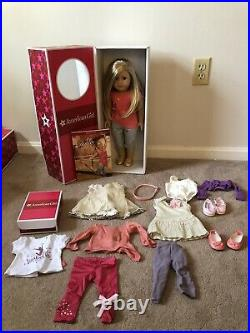 American Girl Doll Isabelle Perfect Condition With Outfits And Book