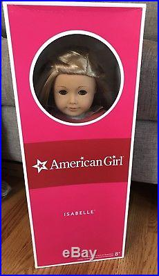 American Girl Doll Isabelle with Complete Meet Outfit, Pierced Ears, Book&Box