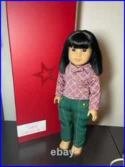 American Girl Doll Ivy Ling- EUC! With Meet Outfit RARE RETIRED (No Box)