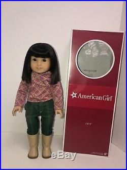 American Girl Doll Ivy Ling With Box And Meet Outfit