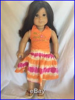 American Girl Doll Jess With Meet Outfit Retired Girl Of The Year GOTY 2006