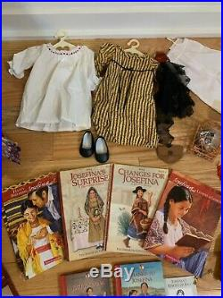 American Girl Doll Josefina RETIRED, Outfits, accessories, books