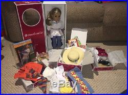 American Girl Doll Julie Albright Retired BNIB. Plus Outfits Lot