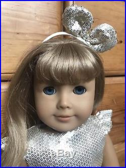 American Girl Doll Just Like You Blonde CHRISTMAS Outfit
