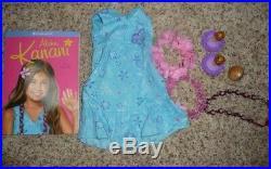 American Girl Doll KANANI Original Dress, Sandals Retired + Hawaiian Luau Outfit